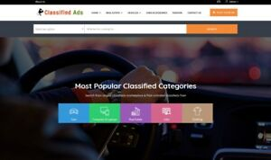 Premium Classified Ads Website Free Installation Hosting