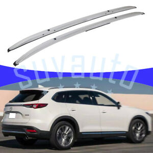 Us Stock Roof Rail Rack For Mazda Cx 3 2016 2021 Durable Aluminum Silver Cargo