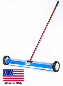 Magnetic Sweeper Commercial industrial 20 Cleaning Path 100 Lb Lifting Power