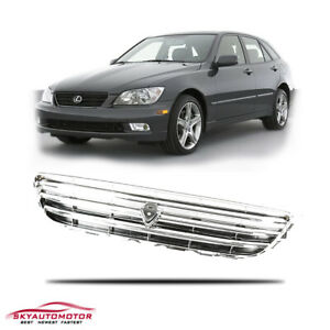 Fits 2001 2005 Lexus Is300 Is200 Front Upper Hood Grille Chrome Altezza Style