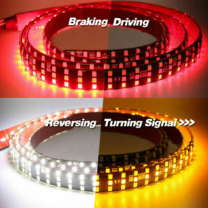 6 Modes 60 432led Truck Strip Tailgate Light Bar 3row Reverse Brake Signal Ad