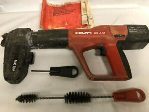 Hilti Dx A41 Power Actuated Nail Gun Concrete Nailer
