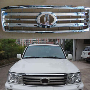 1pc For Toyota Land Cruiser Lc100 2006 2007 Car Front Bumper Upper Grille Grid