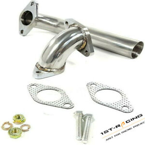 Fit Tial Hks 35 38mm External Wastegate Dump Pipe elbow Adaptor bolts Ss T304