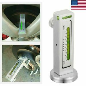 Car Truck Magnetic Gauge Tool Camber Angle Castor Strut Wheel Brake Alignment