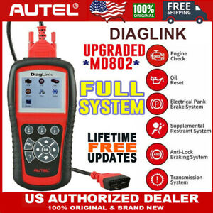 Sale Autel Diaglink Full System Diagnostic Scan Tool Diy s Maxidiag Elite Md802