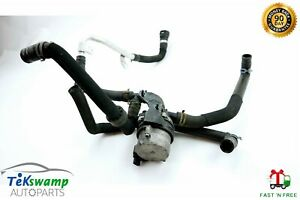 12 17 Audi A7 C7 Engine Auxiliary Coolant Cooling Water Pump W Hose Line Oem