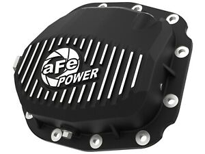 Afe Rear Differential Cover Black W Machine Fin For F 150 15 19 Super 8 8 12b
