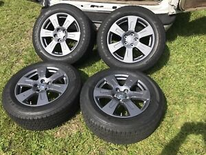 18 Honda 2020 Pilot Ridgeline Oem Elite Gray Wheels Rims Tires 2018 2018