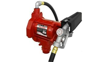 Tuthill fill rite Fr700v 115v Ac Fuel Transfer Pump With Manual Nozzle