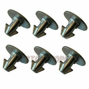 Set Of 6 Engine Cover Lower Pin Screw For Honda Accord Civic Cr v
