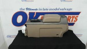 06 Ford F150 Complete Front Floor Center Console Tan