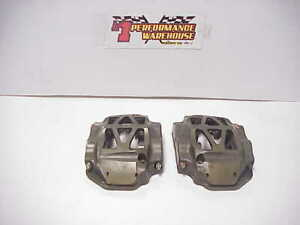 2 Alcon Racing Billet 4 Piston Pot Brake Calipers Pc1001 L R Nascar Brembo Sd3
