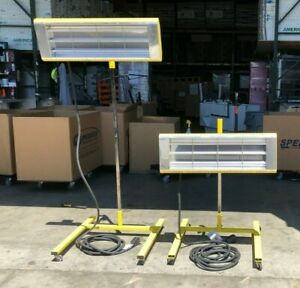 Infratech Pho6000 c High Output Paint Curing System 6000 Watt 240 Volts 2 Units