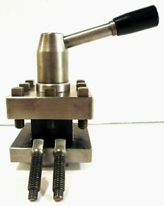 Lathe 3 Square Quick Change Tool Post Clamps Holders Up To 1 1 16 High Clean