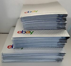 Ebay Brand Shipping Supplies Padded Bubble Mailer Envelope Business Kit Lot 45pc