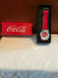COCA-COLA WATCH--Christmas Bear Watch