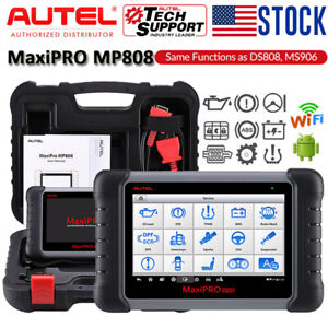 Autel Scanner Key Fob Programming Ecu Coding Full Systems Diagnostic Code Reader