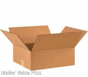 50 16 X 14 X 6 Corrugated Shipping Boxes Packing Storage Cartons Cardboard Box