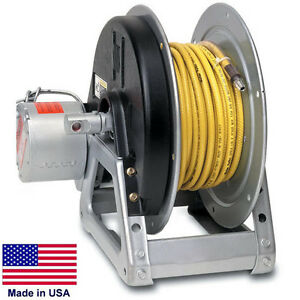 Pressure Washer Sprayer Electric Hose Reel 125 Ft 3 8 Or 75 Ft 1 2 Id 12v