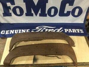 Nos Fender Skirts 1949 1950 1951 Ford Deluxe Victoria Custom