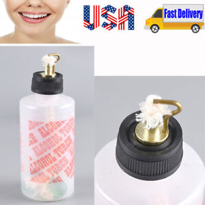 Dental Lab Oral Jewelry Alcohol Burner Torch Needle Flame Plastic Bottle 200ml