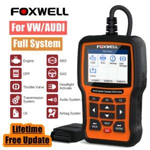 For Vw Car Full System Diagnostic Scanner Abs Srs Epb Tpms Dpf Oil Sas Tps Check