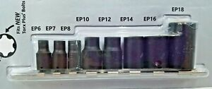 Cta Tools 9650 Ep Inverted Torx Plus 8 Pc Socket Set New With Free Shipping