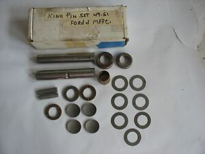 New Ford 1949 1950 1951 Mercury King Pin Spindle Bolt Kit 8m 3111