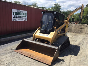 2013 Caterpillar 247b3 Compact Track Skid Steer Loader Cab Super Clean 3000hrs
