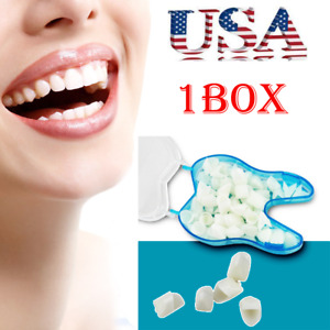 60pcs Dental Temporary Porcelain Crown Posterior anterior Teeth Caps Molar Fda