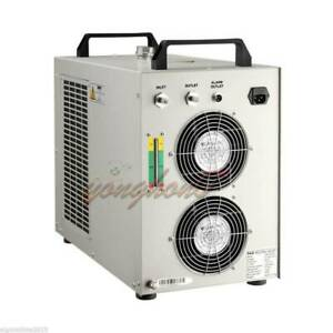 1pc Cw 5000 Industry Water Chiller Cool For 80w 100w Co2 Laser Tube