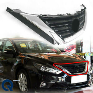 For 2016 2017 2018 Nissan Altima Abs Style Grille Front Upper Hood Grill Chrome