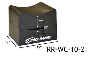 Race Ramps 10 H Wheel Cribs Lightweight Jack Stands Or Display 2 pc Rr wc 10 2