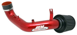 Aem Red Short Ram Intake For 02 06 Acura Rsx Type S