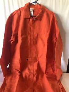 Banox Coverall Safety Flame And Arc Flash Resistant Welding Shop Orange M L 4xl