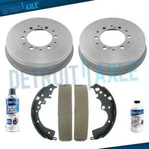 Rear Brake Drums Shoes For 2005 2006 2007 2008 2009 2019 Toyota Tacoma 4wd