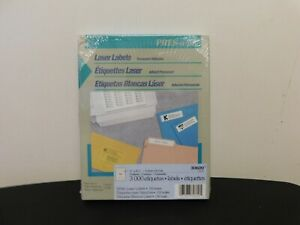 Pres a ply Laser Address Labels 1 X 2 5 8 White 3000 box 30600 New