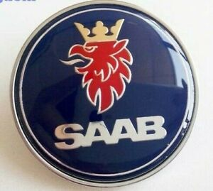 Saab Bonnet Emblem Badge 900 Ng900 9000 9 3 5289871 New
