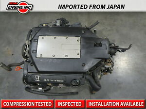 2000 2002 Jdm Honda Accord J30 J30a 3 0l V6 V tec engine Only Coil Type 15