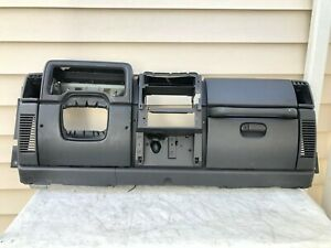 01 06 Jeep Tj Wrangler Slate Gray Oem Dash Assembly Dashboard Bezel Trim