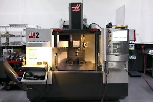 Haas Vf 2 Vmc 2014 Low Hours Mint Condition 4th Axis Rotary Table Brand New