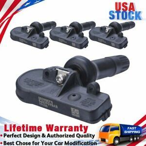 4pack Tpms Tire Pressure Monitoring Sensors For Gm Chevy Silverado 1500 13598771