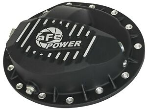 Afe Rear Differential Cover Machined Fins Pro For Gm Trucks 99 13 9 5 14 Bolt