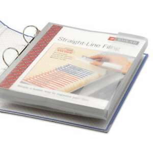 Smead Poly Ring Binder Pockets 9 X 11 1 2 Clear 3 pack 086486895002