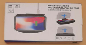 Wireless Charging Hud Car Navigation Support Free Shipping