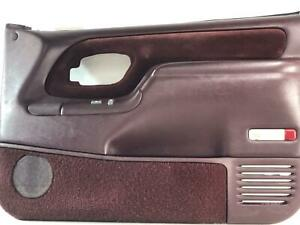 1995 1999 Chevrolet Tahoe Suburban Yukon Silverado Right Door Panel Red 79d