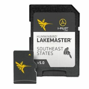 Humminbird LakeMaster Charts Southeast States Edition  Version 5