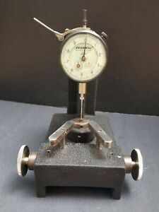 Federal 0 0001 Dial Indicator Thickness Stand Comparator Machinist Inspection