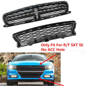 Fit For Dodge Charger 2015 2020 R t Sxt Se Front Center Upper lower Grill Grille